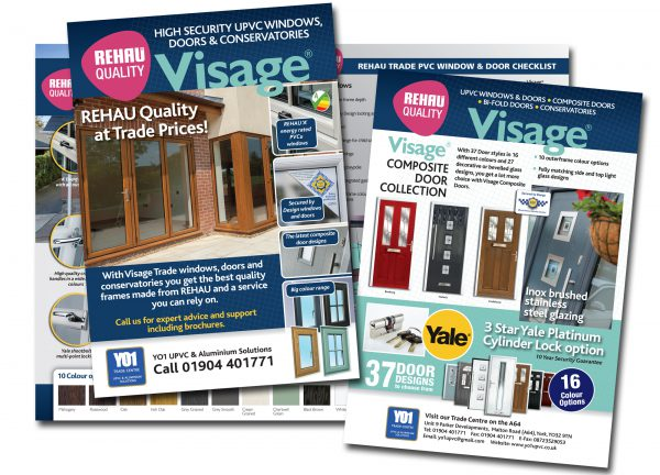 REHAU Trade Sales Leaflets