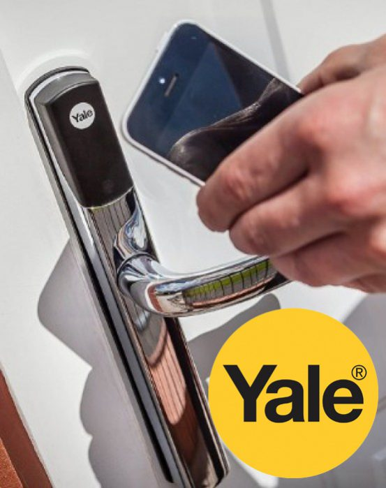 Yale Conexis open with smart phones