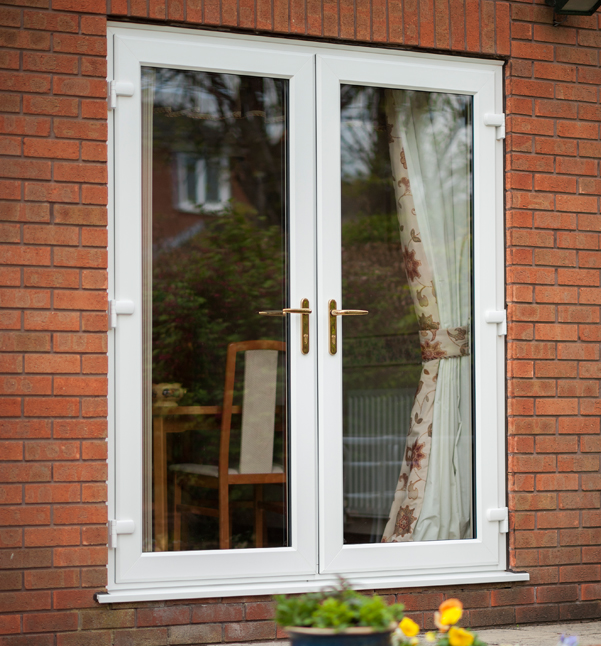 French doors shepley for Plastic french doors